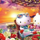 B-31-424 Hello Kitty Tropical Sunset (Japan Beverly Sanrio Jigsaw Puzzle)