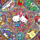 B-33-062 Hello Kitty stained glass musical (Japan Beverly Sanrio Jigsaw Puzzle)