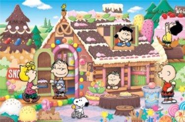 AP-3-762 Peanuts Snoopy and Woodstock (Japan Apollo-sha Jigsaw Puzzle)