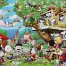 AP-48-747 Peanuts Snoopy and Woodstock - Tree House (Apollo-sha Jigsaw Puzzle)