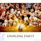 D-300-284 Disney Dancing Party Mickey Minnie (Japan Tenyo Disney Jigsaw Puzzle)