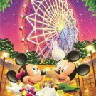 D-1000-165 Ferris Wheel Minnie Mickey Mouse (Japan Tenyo Disney Jigsaw Puzzle)
