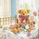 D-1000-227 Disney Babies Mickey Minnie n Bear (Japan Tenyo Disney Jigsaw Puzzle)