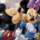 D-108-706 Lovely Minnie and Mickey Mouse (Japan Tenyo Disney Jigsaw Puzzle)