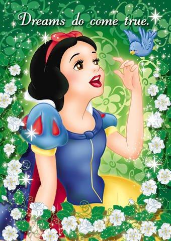 D-108-889 Disney Princess Snow White (Japan Tenyo Disney Jigsaw Puzzle)