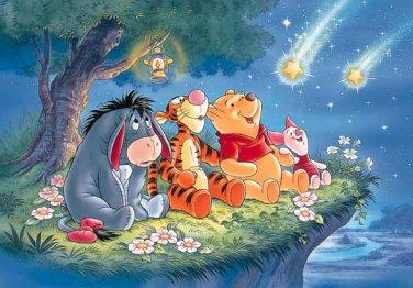 D-108-838 Winnie the Pooh Meteor Shower (Japan Tenyo Disney Jigsaw Puzzle)