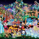 D-2000-534 Disney All Characters Night Party (Japan Tenyo Disney Jigsaw Puzzle)