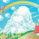 AP-10-168 Peanuts Snoopy and Woodstock - Rainbow (Japan Apollo-sha Jigsaw Puzzle