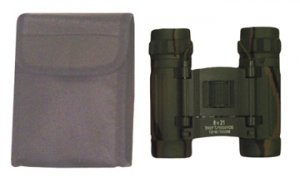 8x21 Camouflage Binoculars