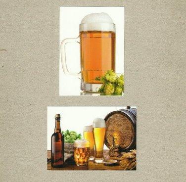 CZECH BEER CZECH REPUBLIC ADVERTISING CALENDAR CARDS 2014