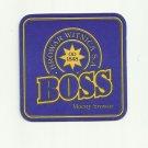 BOSS BROWAR WITNICA BALTIC PORTER POLISH ADVERTISING BEER MAT COASTER