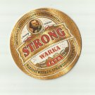 WARKA STRONG 1478  POLISH ADVERTISING BEER MAT COASTER