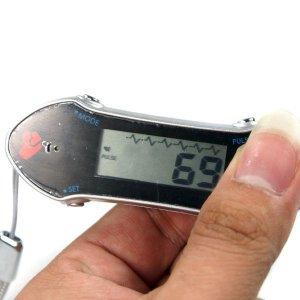 Heart Rate / Pulse Monitor + Clock + Alarm