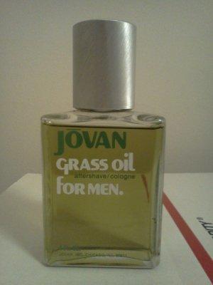 Grass Oil for Men by Jovan After Shave Cologne 4 oz Splash