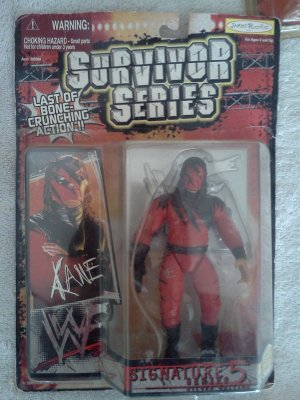 Kane signature series 5 action figure