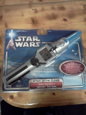 Star Wars Attack of the Clones Anakin Skywalker's Lightsaber Duel Action Game