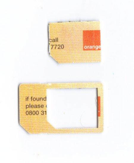 ORANGE UK GSM  PREPAID MICRO SIM CARD for iphone 4 ipad