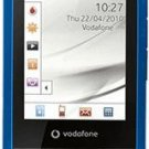 NEW UNLOCKED CYAN VODAFONE 543   900/1800 MHZ GSM TOUCHSCREEN CELLULAR PHONE