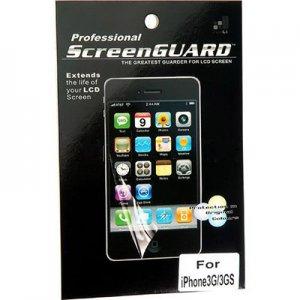Three  iPhone 3 screen protectors