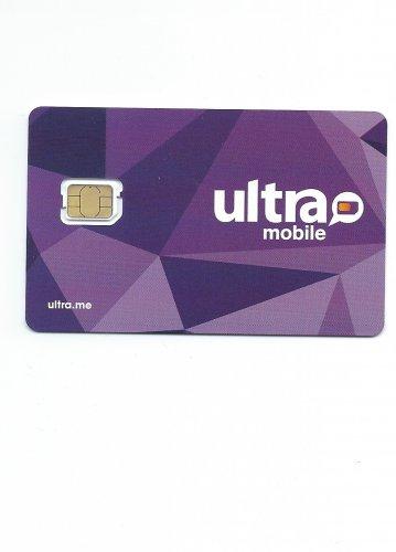 Ultra Mobile GSM Nano cut sim card  T-mobile network