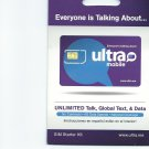 Ultra Mobile GSM standard sim card with $23 plan T-mobile network