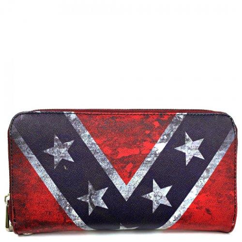 Rebel Flag Wallet