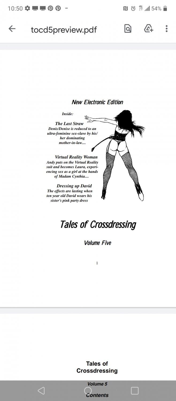 PDF TALES OF CROSSDRESSING Vol 5