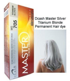 Master Silver Titanium Blonde Hair Color