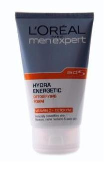 LOREAL Paris Men Expert HYDRA ENERGETIC Detoxifying Foam