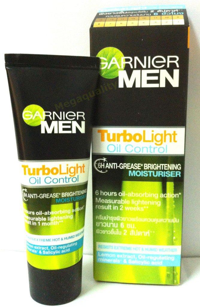GARNIER MEN TURBO LIGHT OIL CONTROL MOISTURISER 20 ml