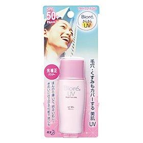 Biore UV BRIGHT FACE MILK SPF 50++ SUN BLOCK PINK 30ml