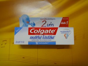 110g NEW Colgate Sensitive Pro-relief WHITENING Toothpaste