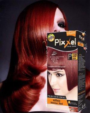 Lolane hair Color Cream Permanent Hair Dye Intense Red Color