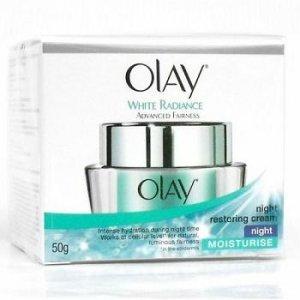 Olay White Radiance Advanced Fairness CelLucent Night Restoring Cream 50g