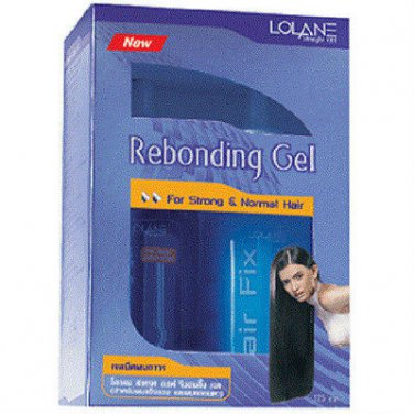 Lolane Straight off hair Straightening rebonding gel (Strong Hair)