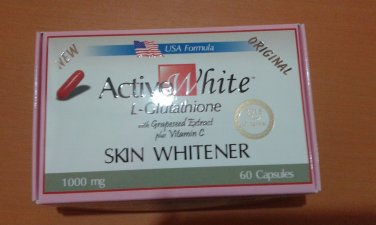 Active White L- Glutathione w/ Grapeseed Extract