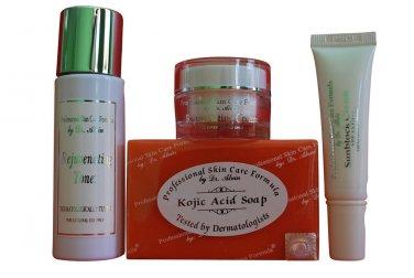 REJUVENATING SET Professional Skin Care Formula By Dr. Alvin
