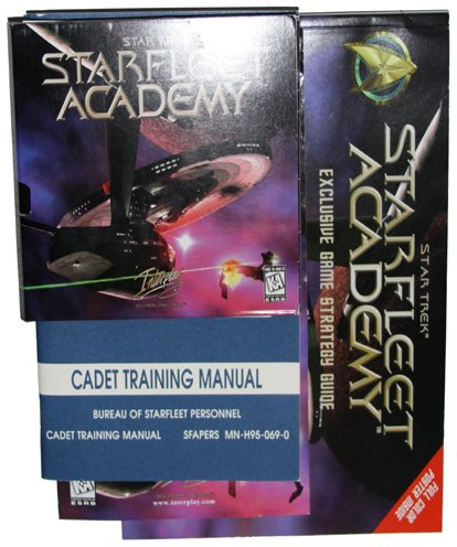 Star Trek: Starfleet Academy [PC Game] with FREE Strategy Guide