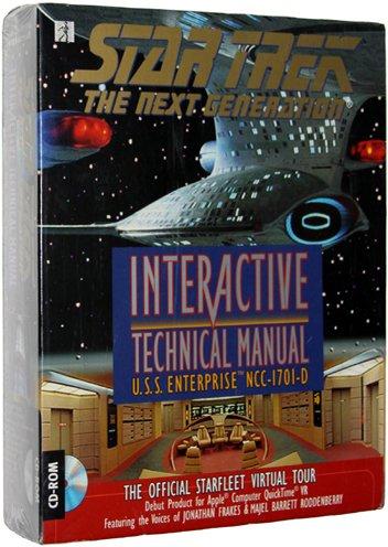 Star Trek: The Next Generation - Interactive Technical Manual [Mac Game]