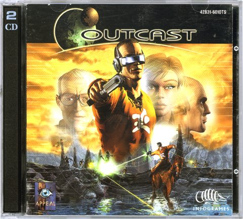 Outcast [Jewel Case] [PC Game]