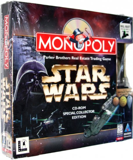 Monopoly: Star Wars CD-ROM Special Collector Edition [PC Game]