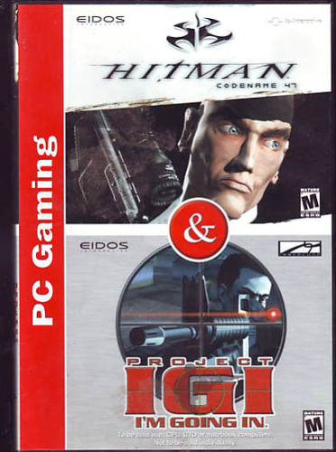 Hitman: Codename 47 / Project IGI: I'm Going In [PC Game]