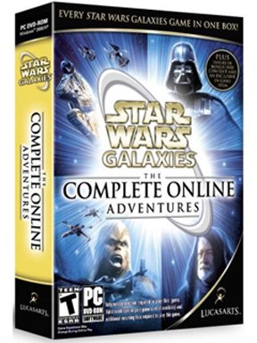 Star Wars: Galaxies: The Complete Online Adventures [PC Game]