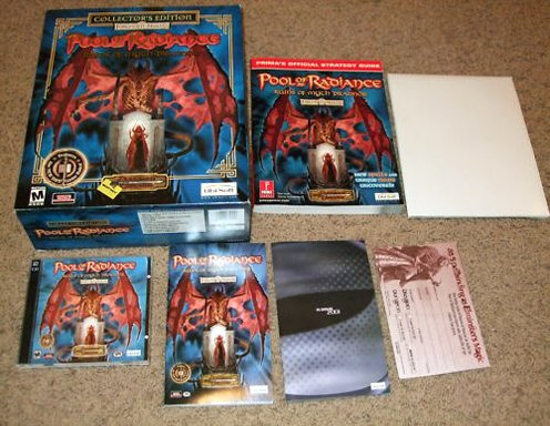 Pool of Radiance: Ruins of Myth Drannor - Collector's Edition [PC Game]