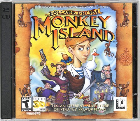 Escape From Monkey Island [LucasArts Archive Series] [PC Game]