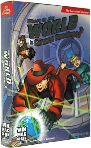 Where in the World Is Carmen Sandiego? [Hybrid PC/Mac Game]