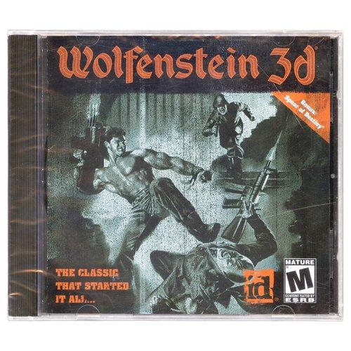Wolfenstein 3D [Jewel Case] [PC Game]