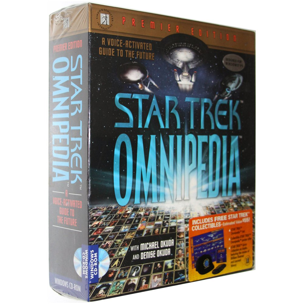 Star Trek: Omnipedia - Premier Edition [Hybrid PC/Mac Game]