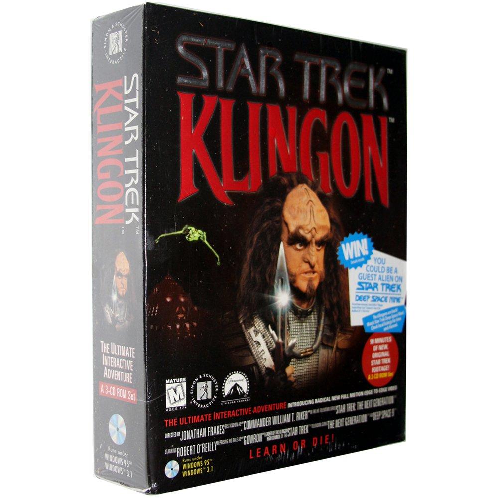 Star Trek: Klingon [Hybrid PC/Mac Game]
