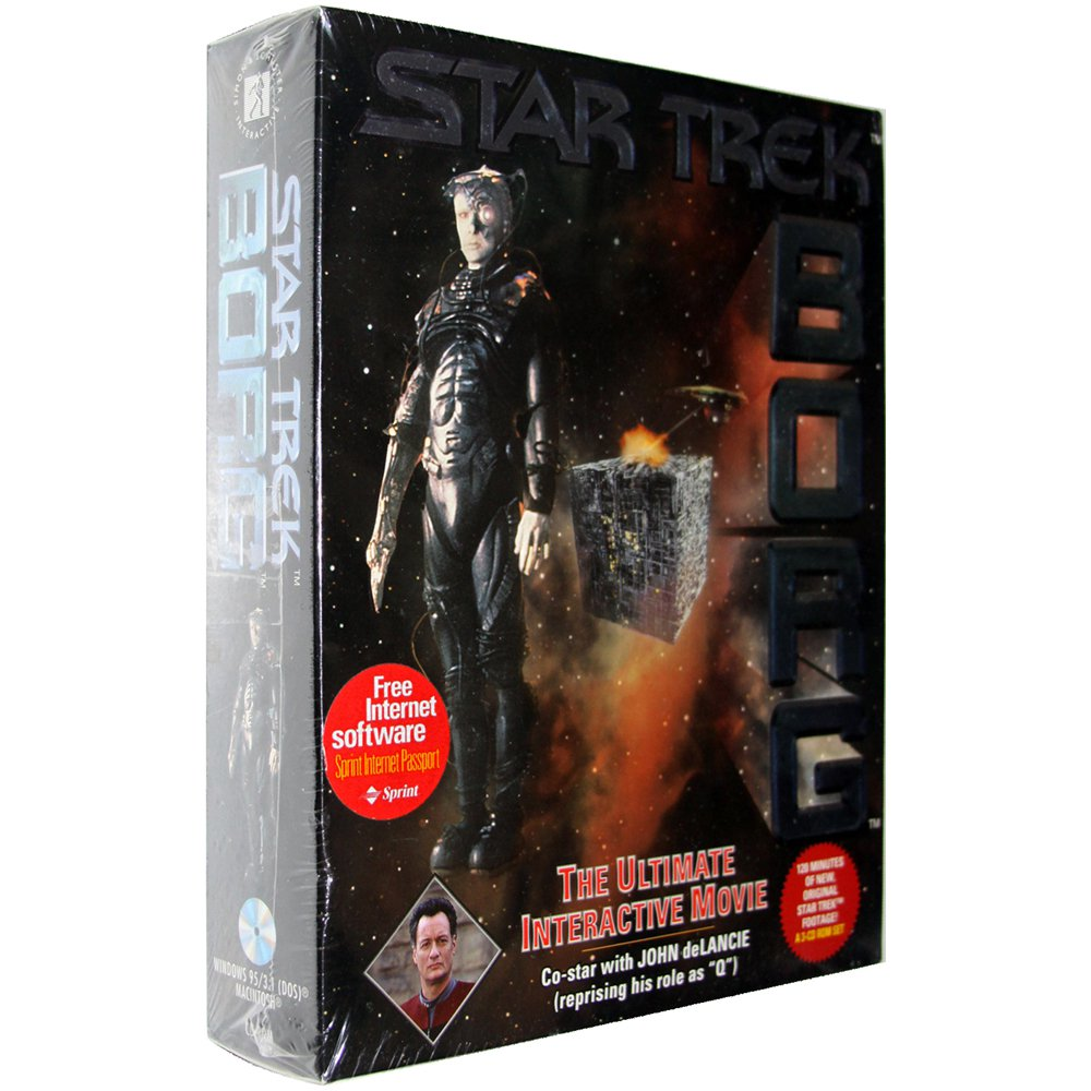 Star Trek: Borg [Hybrid PC/Mac Game]